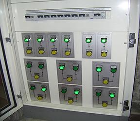 quadro elettrico impianto termoidraulico
