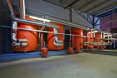 Impianto meccanico presso centro commerciale Euroma 2 - Roma