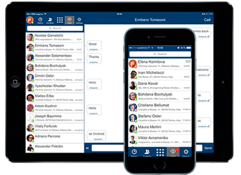 Comunicazione via web: chat, audio e video
