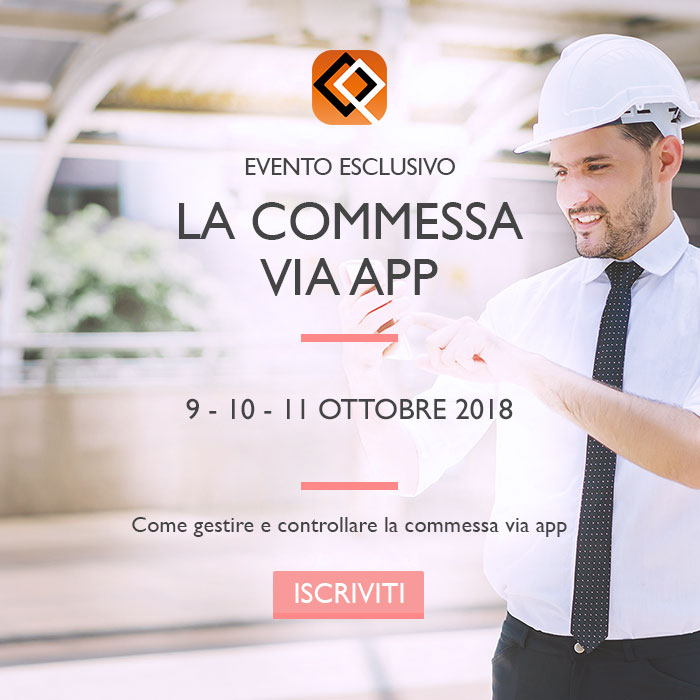 La commessa via app: evento per impiantisti