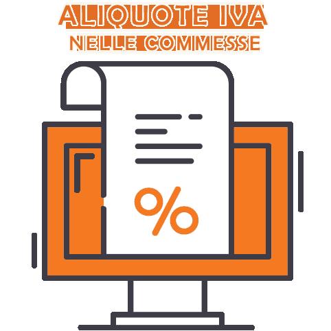 Aliquote IVA in un gruppo di commesse